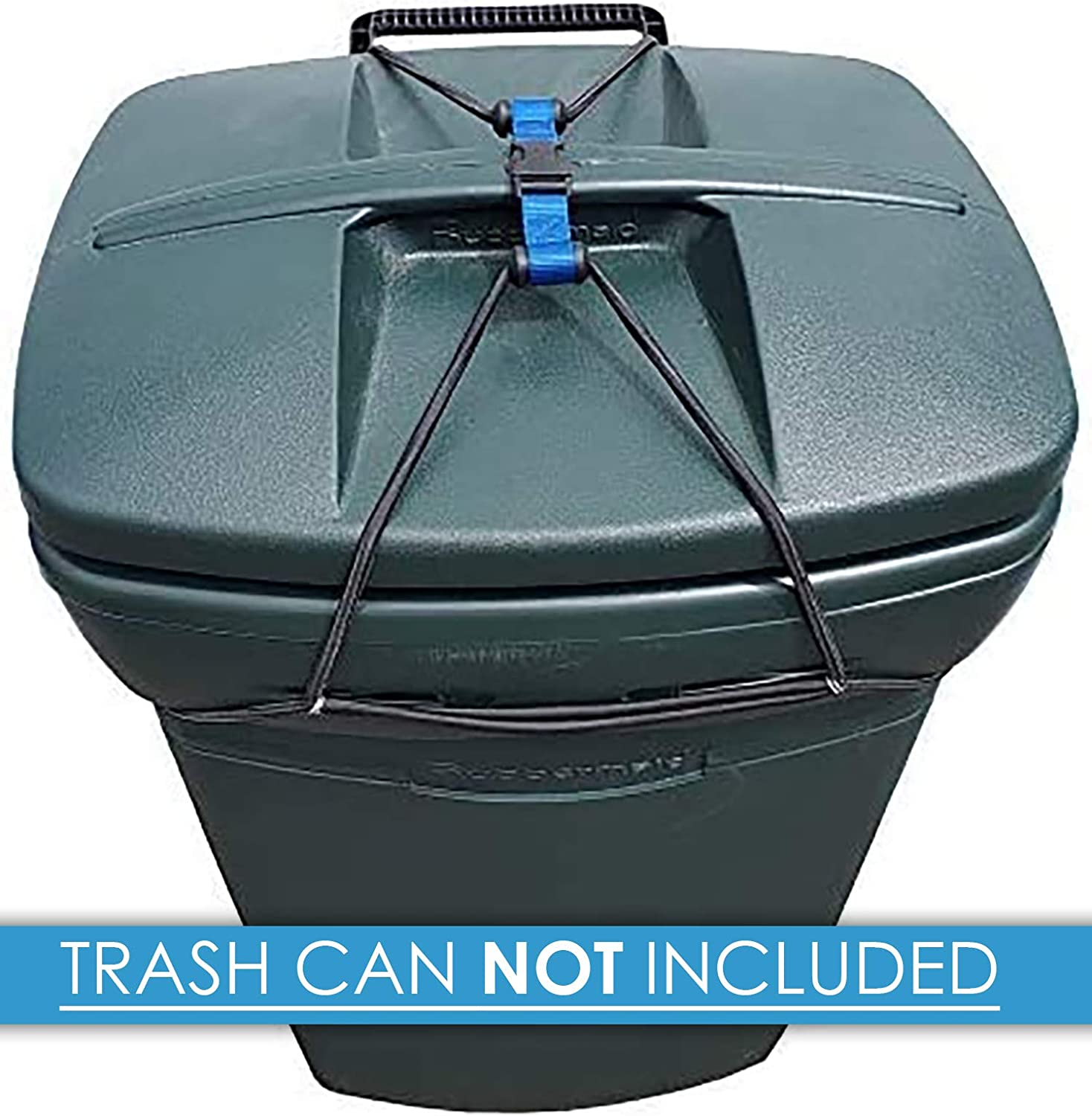 Amazon Com Doggy Dare Trash Can Lock Large Fits 45 Gallon Cans Home Kitchen