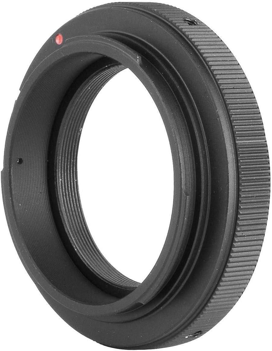 EF-S Adattatore a ghiera per fotocamere con innesto con filettatura a T e T2 a vite regolabile per lenti per Canon EOS EF