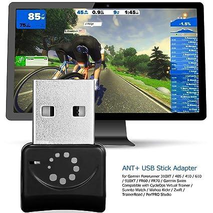 Adaptador de enchufe USB Zwift ANT + adaptador USB para transporte ANT + portátil USB Stick