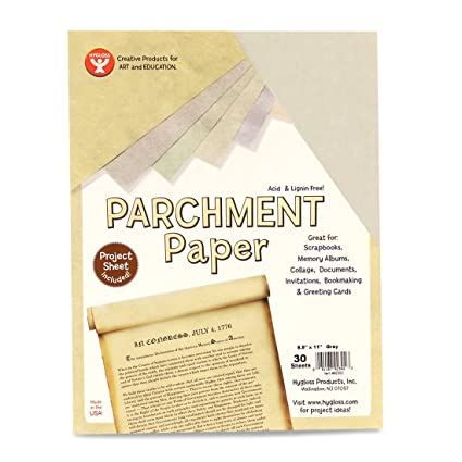 Amazon Hygloss Products Craft Parchment Paper Sheets Printer