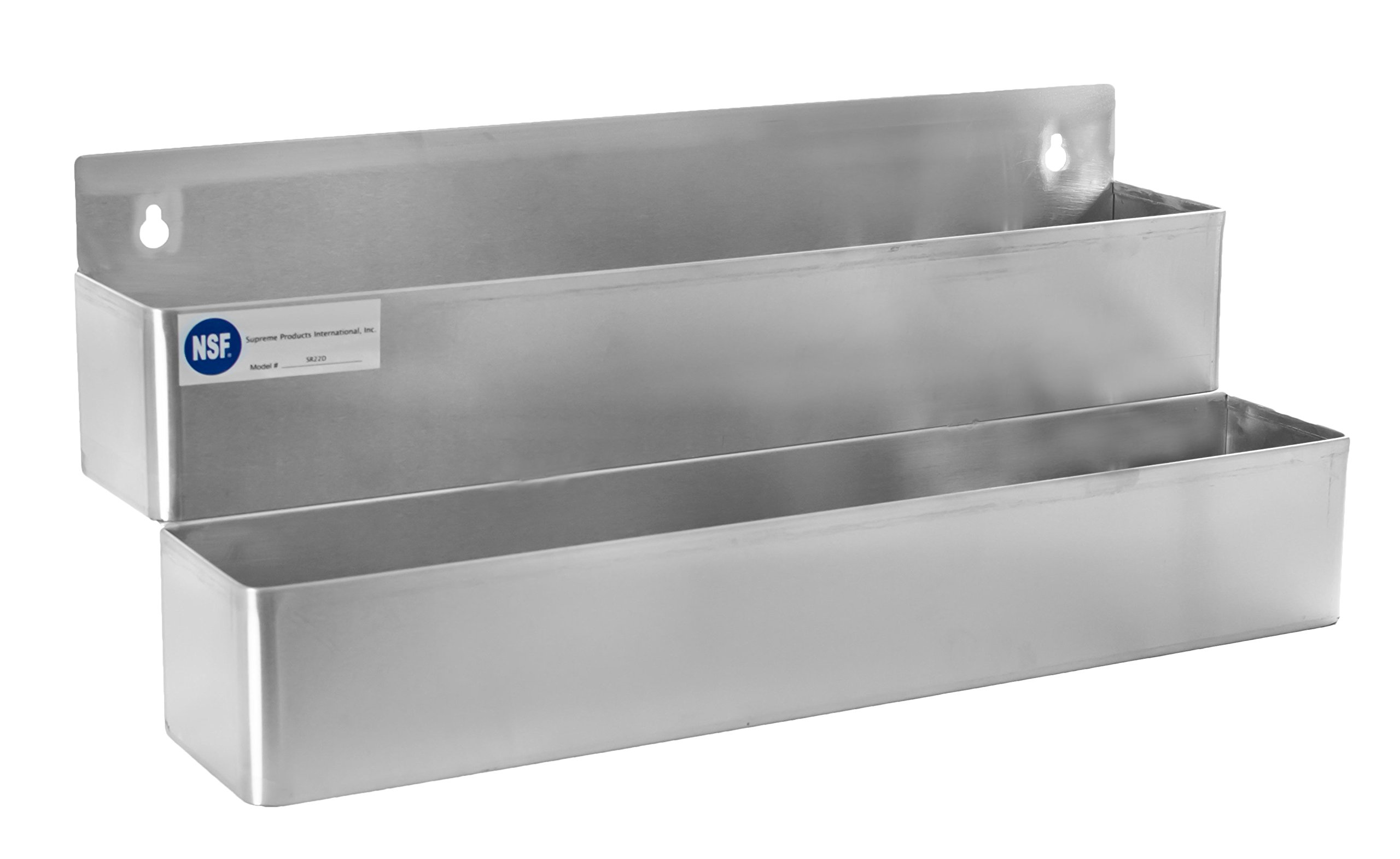 Gusto - 22'' Stainless Double-Tier Speed Rail