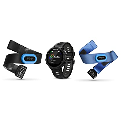 81ab5f6f9 Amazon.com : Garmin Forerunner 735XT Tri-Bundle Black/Grey, One Size ...