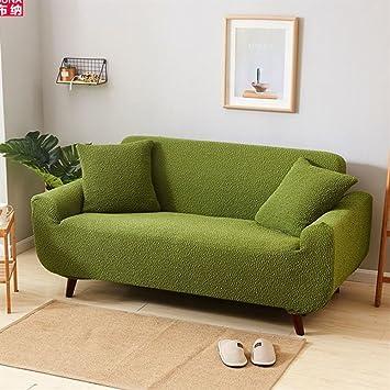 H&C Espesa de Color sólido Funda para sofá, Doble Todo ...