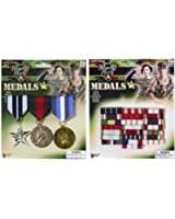 Military Combat Hero Medal of Honor and Medal Bar Accessory Kit