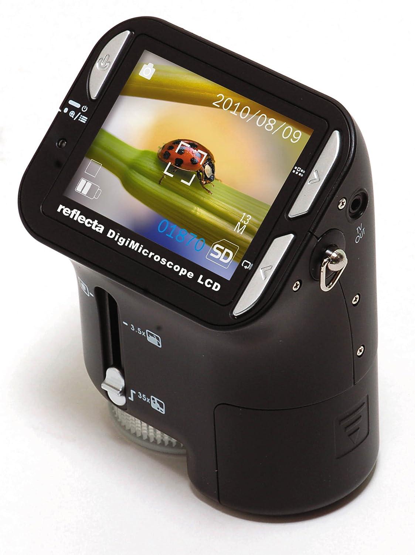 Microscopio monocular negro Reflecta DigiMicroscope LCD