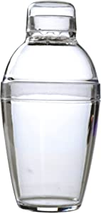 Fineline Settings Quenchers Clear 7 oz. Cocktail Shaker 24 Pieces