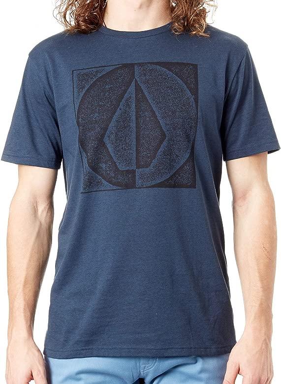 Volcom Camiseta Stamp Divide Heather Indigo (M, Azul): Amazon.es ...