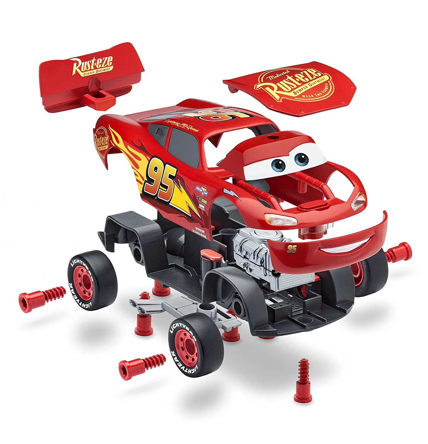 Amazon Revell Jr Cars 3 Lightning McQueen Model Assembly Kit