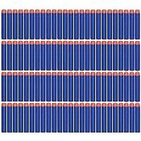 NiceButy 100 pcs Fléchettes De Recharge Fléchettes pour Nerf Élite Séries Recharge Fléchettes en Mousse à Nerf Bleu Mousse dards pour Nerf N-grève Elite série Blasters Toy Gun