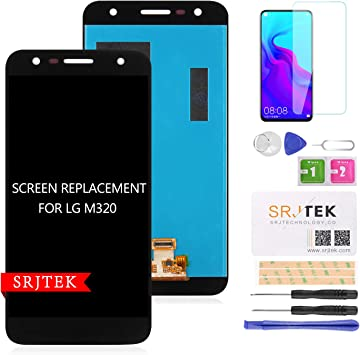 SRJTEK - Pantalla LCD de Repuesto para LG X Power 2 M320 M320N ...