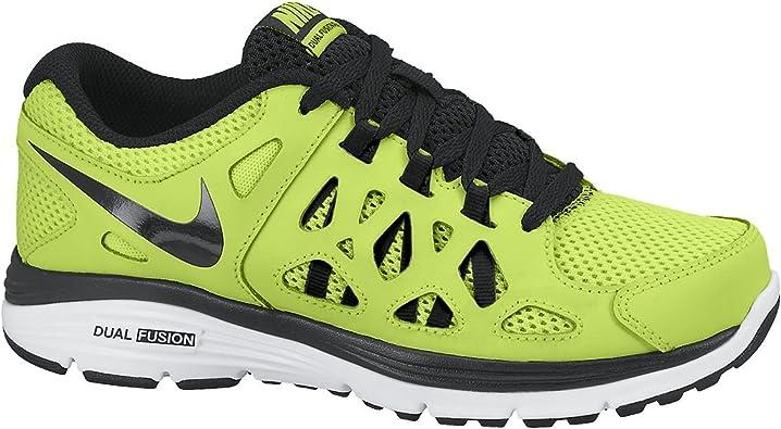 silencio Búsqueda Cereza  Amazon.com   Nike Kids Unisex Dual Fusion Run 2 (Big Kid) Volt/White/Black  7 Big Kid M   Running