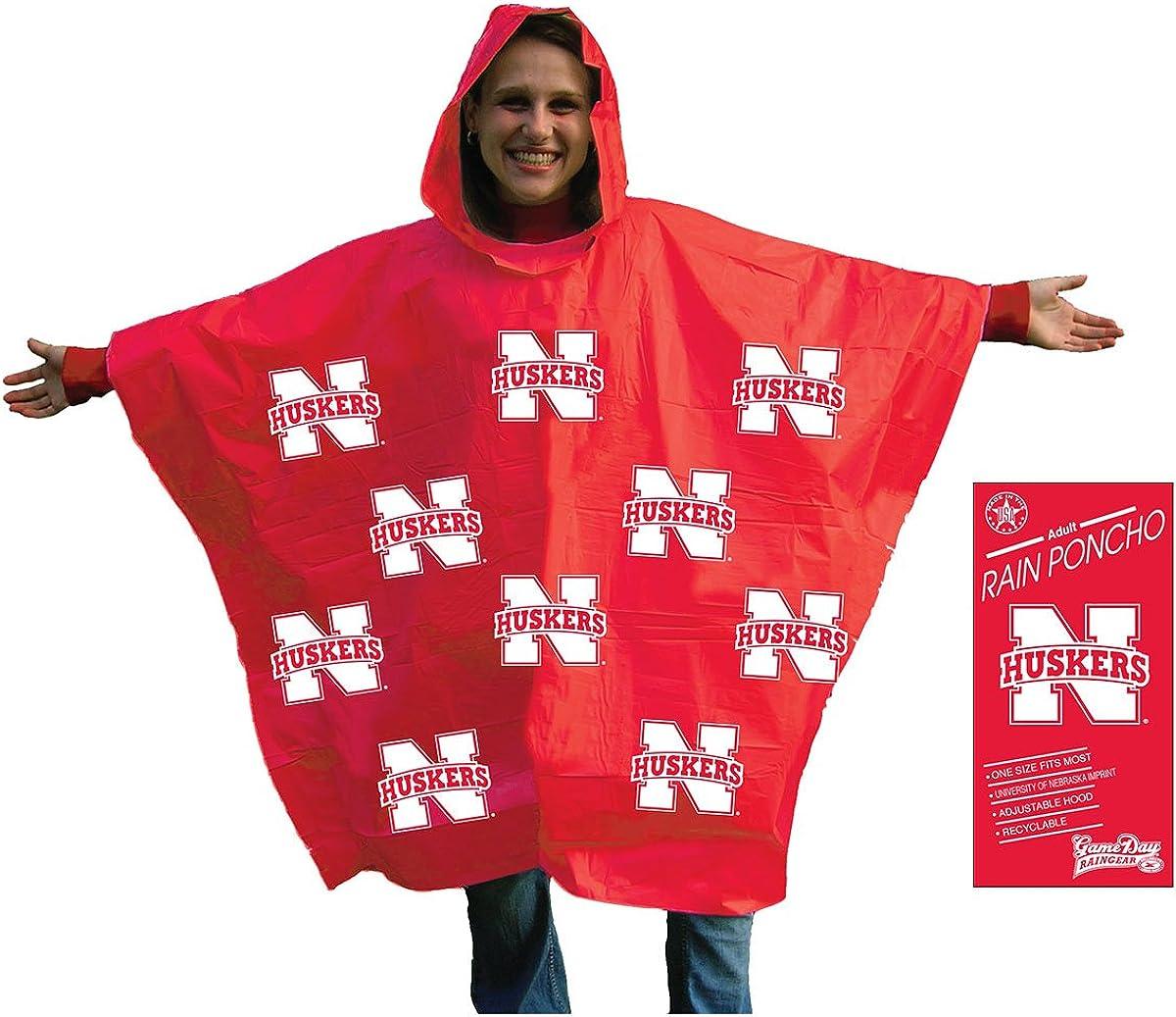 Storm Duds NCAA unisex Rain Poncho