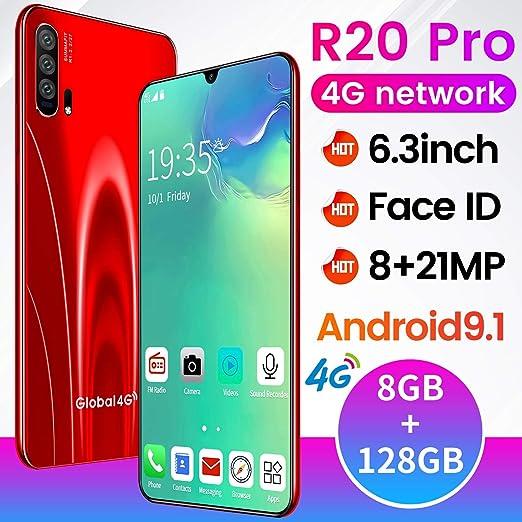 XGLL Teléfono Móvil 4G, Moviles Libres 6.3 Pulgadas FHD SIM Dual ...