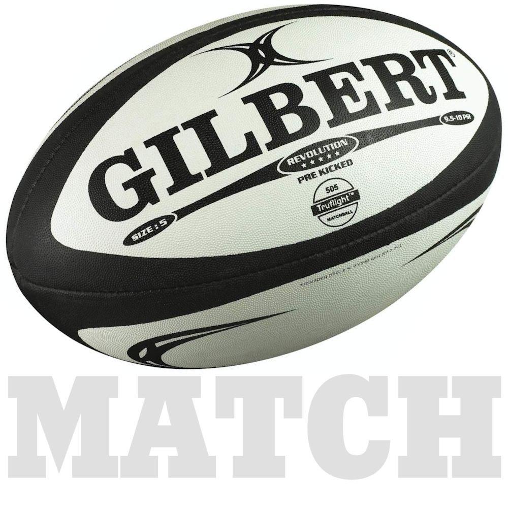 Gilbert Rugby Union Revolution Match Ball Size 5