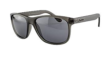 Sonnenbrille im modernen Design - mit polarisierenden Gläsern - in verschiedenen Farben (Grau mit grauen Gläsern) qq0Oh