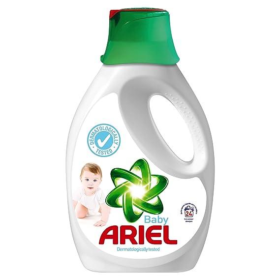 Ariel Baby Detergente Líquido para Lavadora, 24 Lavados - 1560 ml