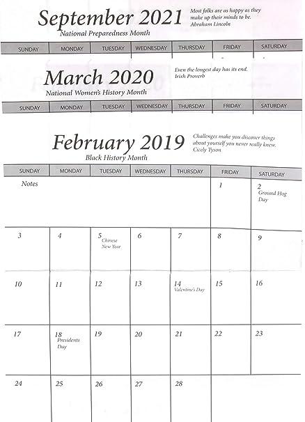 Amazon Com 3 Year Datebook 2019 20 Plus 2021 Pocket Calendar