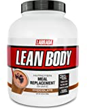 Lean Body All-In-One Chocolate Meal Replacement Shake. 35g Protein, Whey Blend, 7g Healthy Fats & Fibre, 22 Vitamins and Minerals, No artificial colours, Gluten Free, (20 MRP Packets) LABRADA