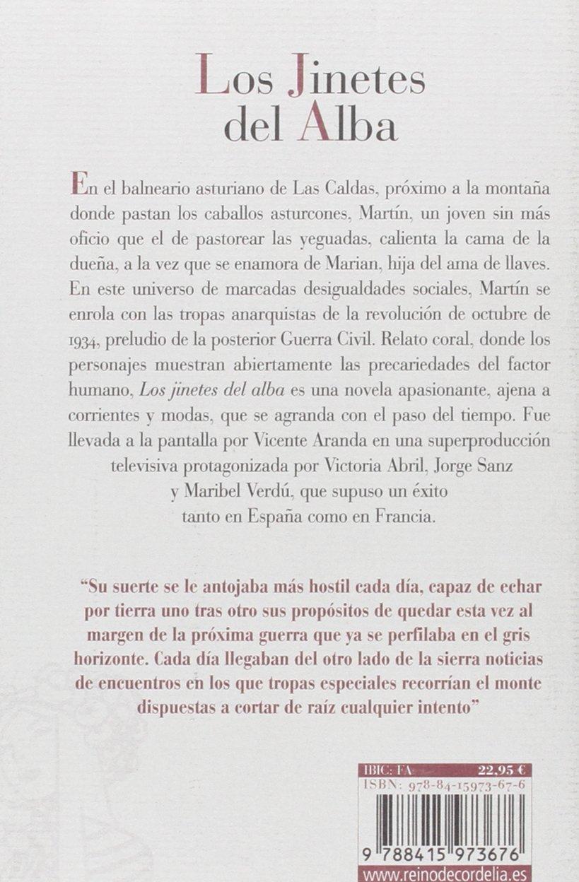 Los jinetes del alba (Literatura Reino de Cordelia): Amazon.es: Jesús Fernández Santos: Libros