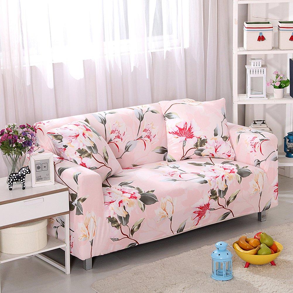 Funda de sofá estampada y lavable de Hotniu, 1 unidad, contrachapado, Pattern #37, 4 Seater for 235-300cm: Amazon.es: Hogar