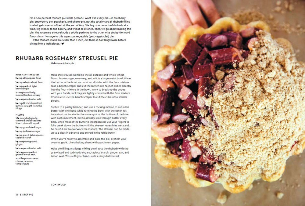 Sister Pie: The Recipes and Stories of a Big-Hearted Bakery