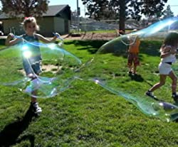 Image: BUBBLE WANDS FOR MAKING BIG BUBBLES FOR KIDS | Great Party Favors | Each Wand Is A Giant Bubble Maker | Awesome Backyard Bubble Blower Toys