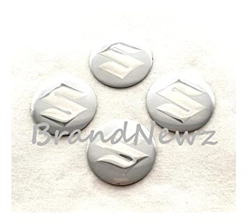 CITROEN SILVER CHROME 3D EMBLEM WHEEL CENTER CAP STICKERS LOGO BADGE WHEEL TRIM 56.5 MM DOME SET OF 4