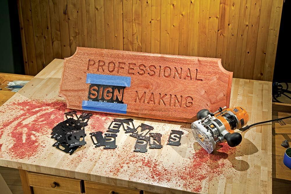 Silverline Tools Rockler 938713 Interlock Signmakers Templates