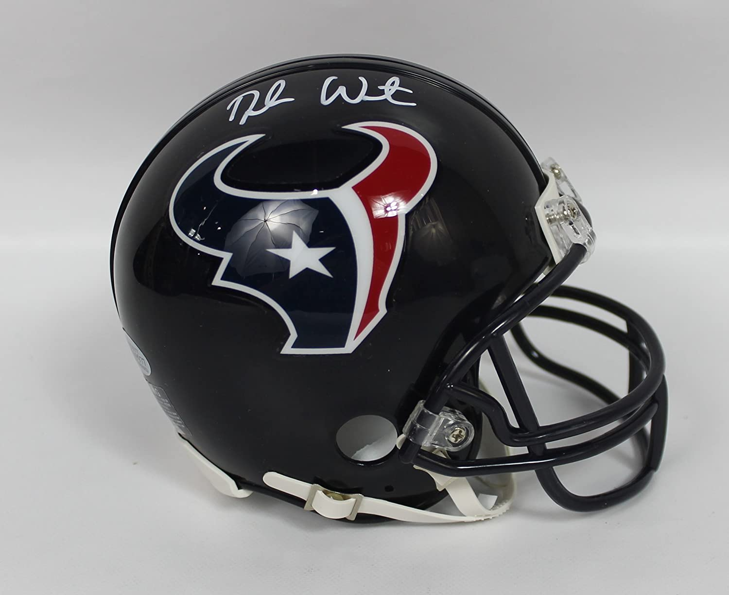 Deshaun Watson Autographed Houston Texans Mini Helmet w/Beckett COA