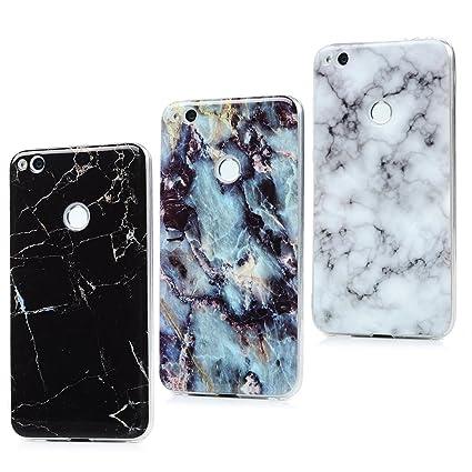 Lanveni Huawei P8 Lite 2017 Hülle,Handyhülle Case Etui Protective Case Cover TPU Silikon Schutzhülle Handytasche TPU Bumper Weiche Silikon Case mit