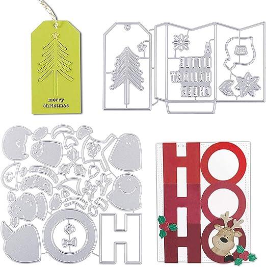 Weihnachten Christmas Cutting Dies Scrapbooking Stanzschablone Karte Foto Deko