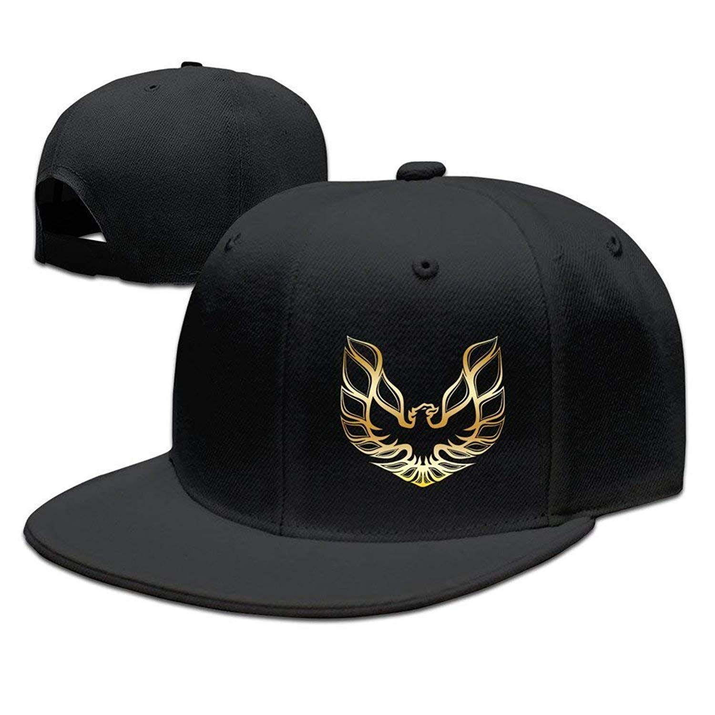 Man Mens Pontiac-Firebird-Logo Baseball Cap Popular Hip Hop Caps Sport Hat Fashion Snapback Hat Mens Trucker Hats