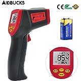 Termometro digitale a infrarossi Aidbucks A530 con puntatore Laser funziona senza contatto da -32℃ a 530℃