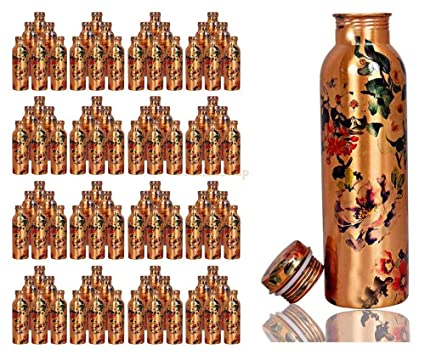 Amazon.com: eTextileShop 100 PCs Pure Copper Water Bottle ...
