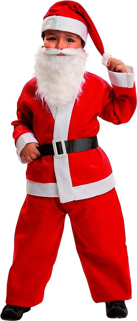My Other Me Me-200421 Noël Disfraz Papa Noel para niño, 7-9 años ...