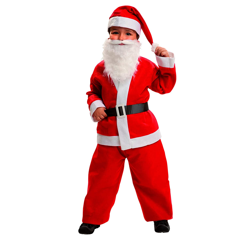 My Other Me Me-203980 Disfraz Papa Noel para niño, 0-6 meses (Viving Costumes 203980
