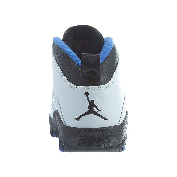 more photos aa541 2ac06 Amazon.com   Nike Air Jordan 10 Retro Men s Shoe White Black Royal Blue  310805-108 (14 D(M) US)   Basketball