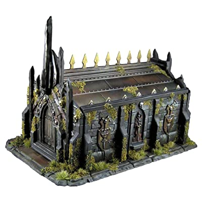Reaper Miniatures Bones Obsidian Crypt #77637 Unpainted Plastic Building Scenery: Toys & Games