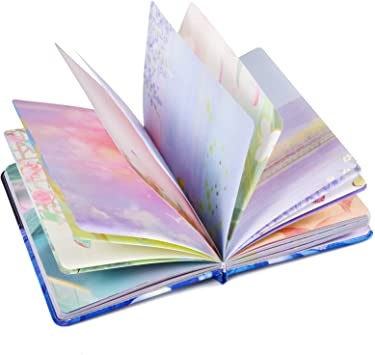 Diary Cute Journal Notebook Hardcover Journals to Write in for Women Thick Paper Sketching Colorful Notebook for Journaling 256 Blank Pages