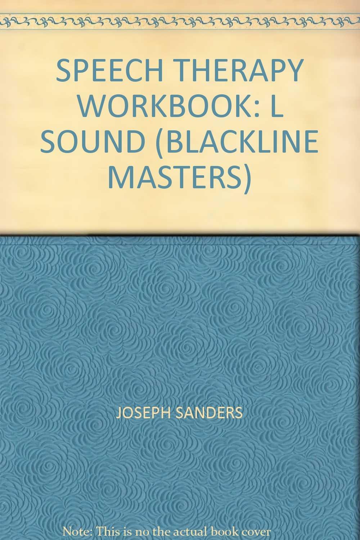 Workbooks speech therapy workbooks : SPEECH THERAPY WORKBOOK: