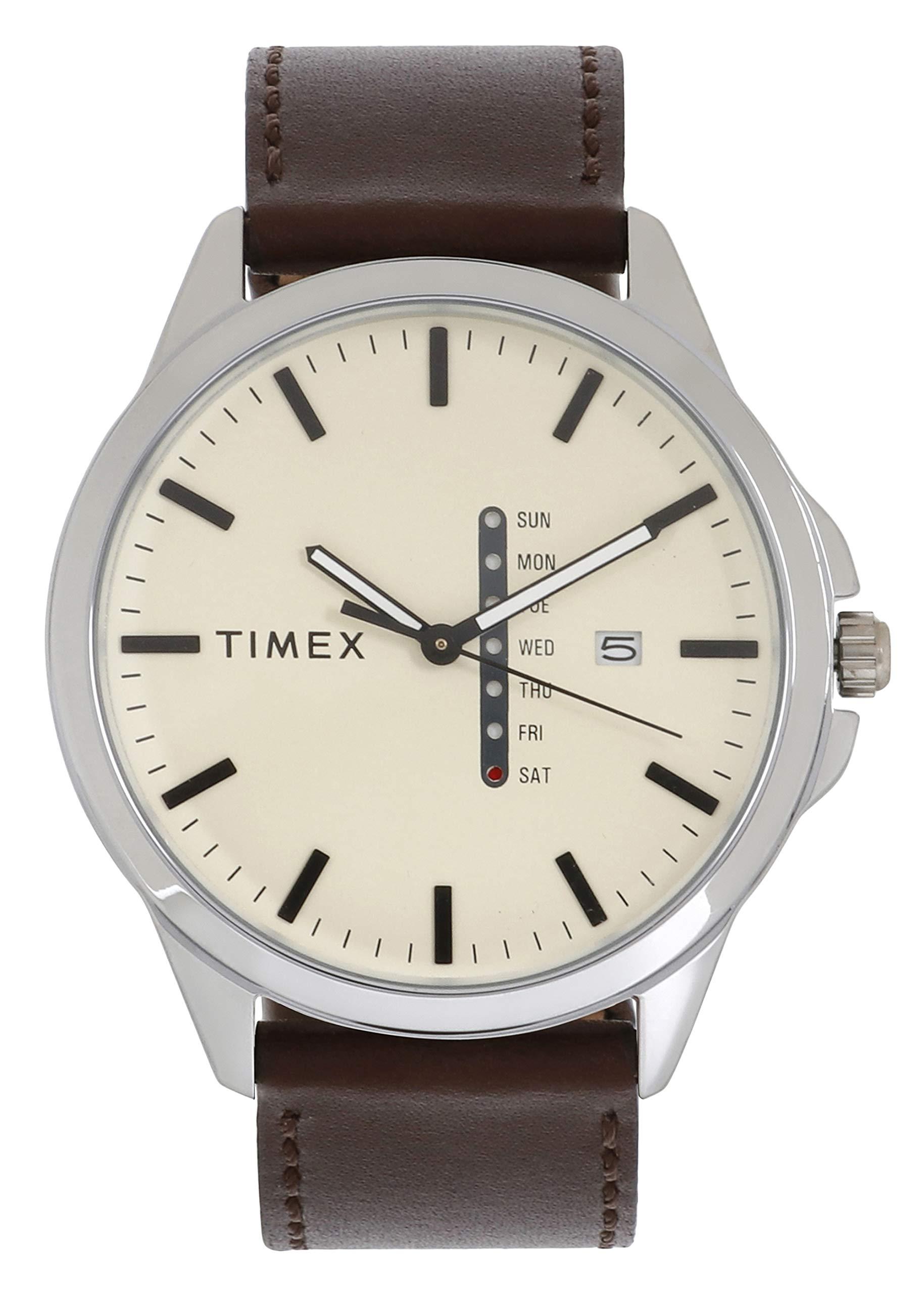 Timex Analog Black Dial Men's Watch-TWEG16507 (B07QTT2QTW) Amazon Price History, Amazon Price Tracker