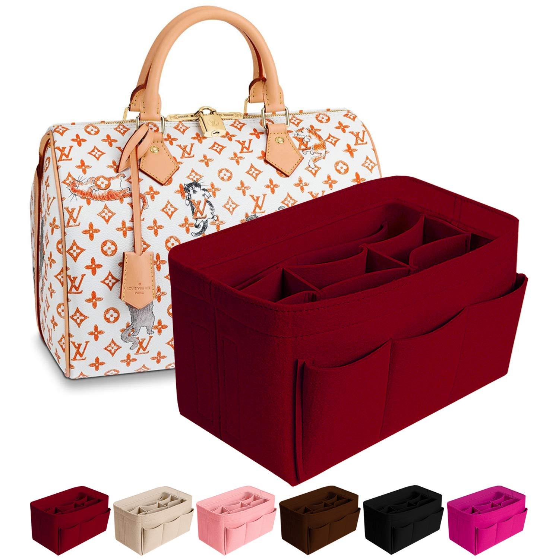 Purse Organizer Insert Felt Bag Organizer Handbag Organizer Insert Bag In Bag Organizer For Tote Fits LV Speedy Neverfull