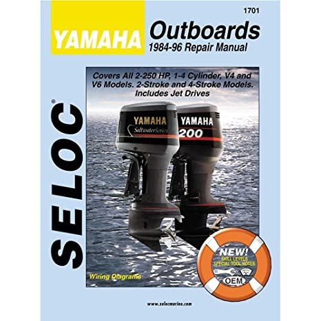 amazon com yamaha outboard repair manual 1 2 cyl 1984 1996 rh amazon com yamaha outboard service manual pdf yamaha outboard repair manual pdf