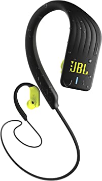 Amazon Com Jbl Endurance Sprint Wireless Headphones Bluetooth Sport Earphones With Microphone Waterproof Up To 8 Hours Battery And Quick Charge Works With Android And Apple Ios Black Yellow Electronics