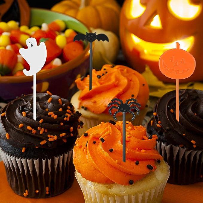 90pack Halloween Cupcake Decorations 45 Cupcake Wrapper 45 Cupcake