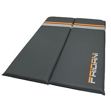 Fridani ISO selbstaufblasende Isomatte mit 3, 5, 7 oder 10 cm Dicke , 1 oder 2 Personen Breite , Luftmatratze in 3 Farben , l