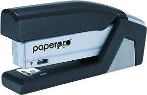 PaperPro inJOY20 - 3 in 1 Stapler - One Finger, No Effort, Spring Powered Stapler - Gray (1510)