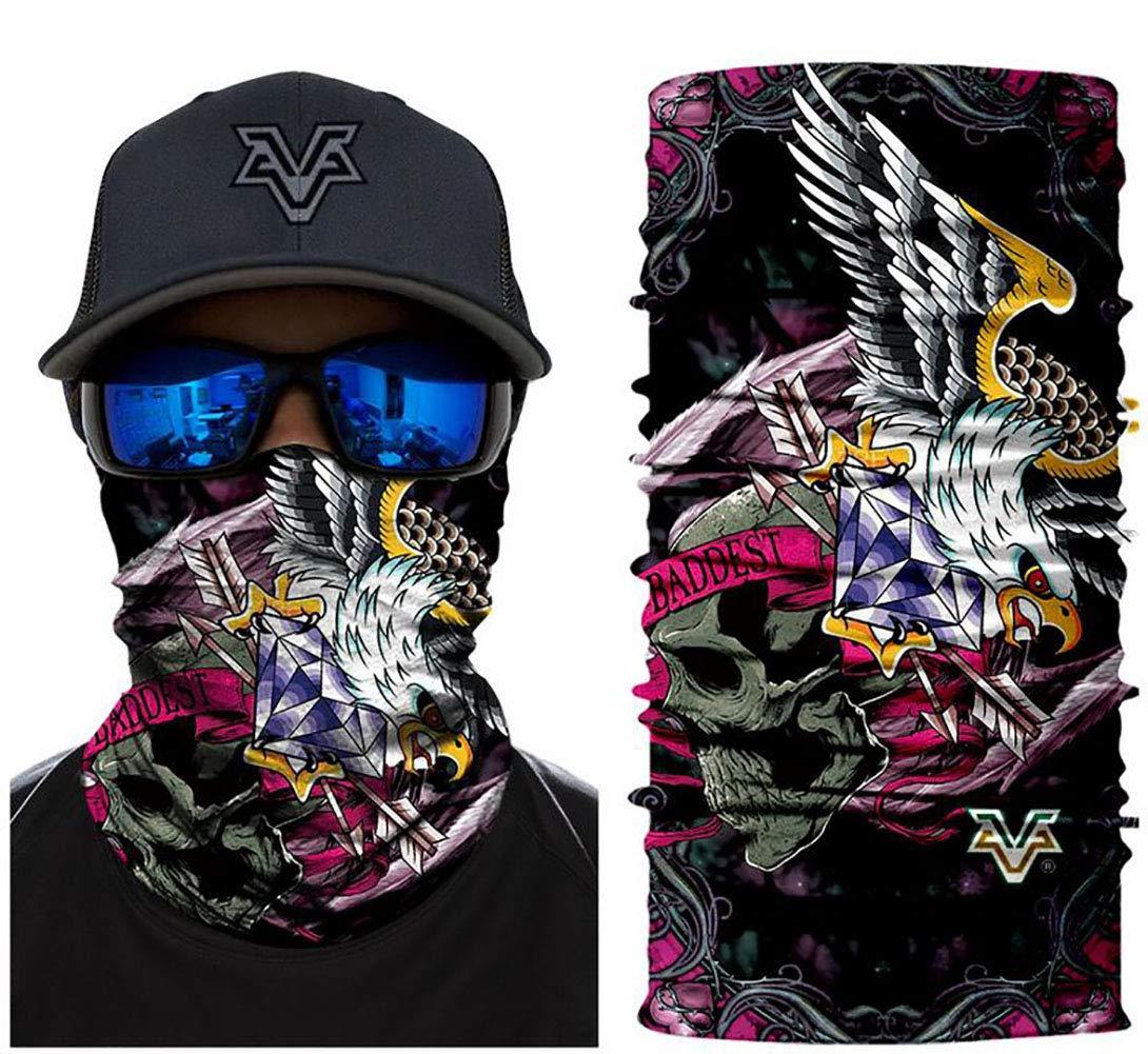 Unbekannt Bandana Máscara Multifuncional de la impresión de la ...