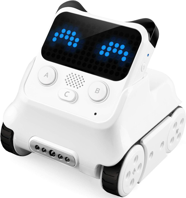 Makeblock Codey Rocky Robot Programable, Codificación de Juguetes, Diseño de Juegos, Compatible con Python, Versión Bluetooth, Multi Lenguaje