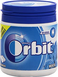 Orbit chicle sin azúcar sabor hierbabuena 10 grageas: Amazon ...